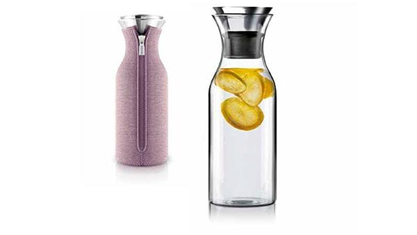 eva solo kühlschrank karaffe in rosa