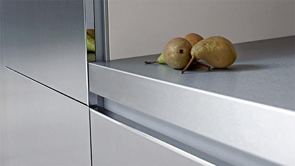 kunststoff arbeitsplatte bei küchen staude