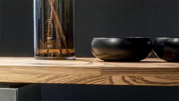 küchen arbeitsplatte aus holz bei küchen staude
