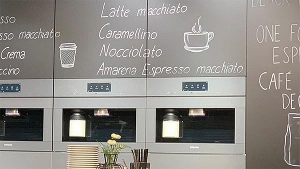 miele kaffeevollautomat 7000 bei küchen staude bistro