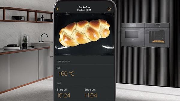 miele foodview backofen kamera mit smart home