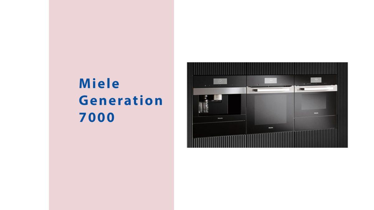 miele einbaugeräteserie generation 7000 bei küchen staude im blog mit highlights