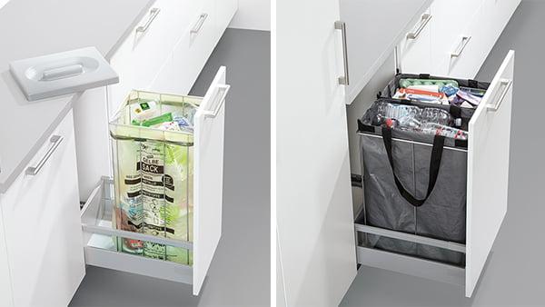 schüller mülltrennsystem für küchen unterschrank