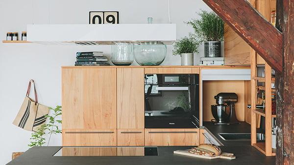 walden traditional küche aus naturholz
