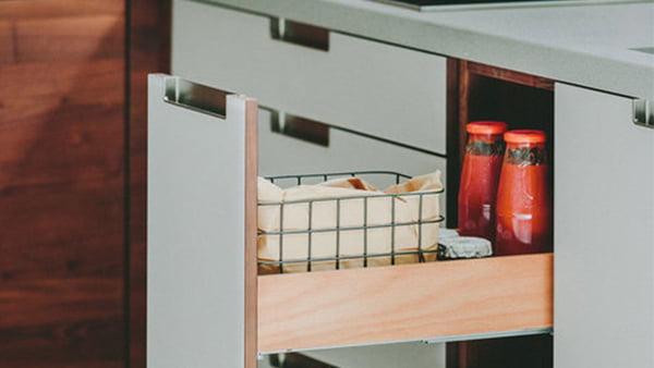 walden industrial küche mit auszug für lebensmittel