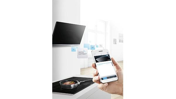 home connect funktionsweise der kochfeld und dunsthauben bedienung via smartphone