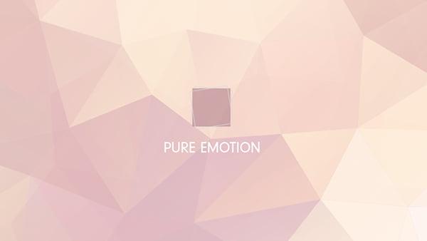 pure emotion stilwelt von brigitte küchen als grafisches farbspiel in rosa tönen