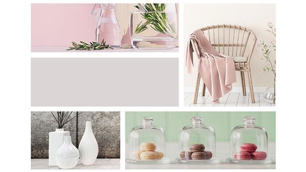 farbbeispiele der brigitte küchen stilwelt pure emotion mit fünf beispielbildern für pastellfarben
