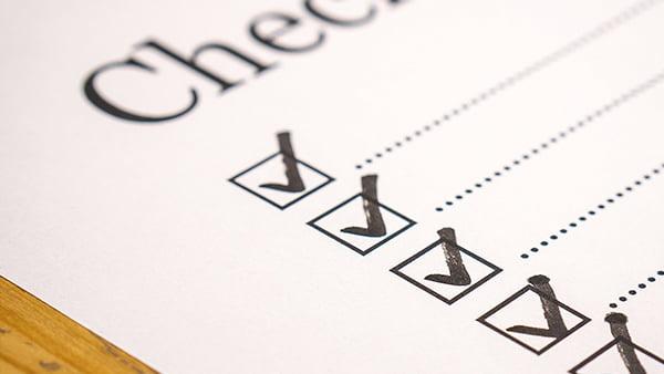 Küchenplanung Checkliste zum Abhaken