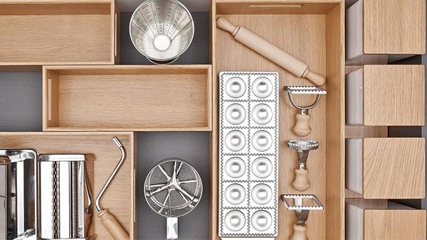 next125 flex schubaldenbox aus eichenholz