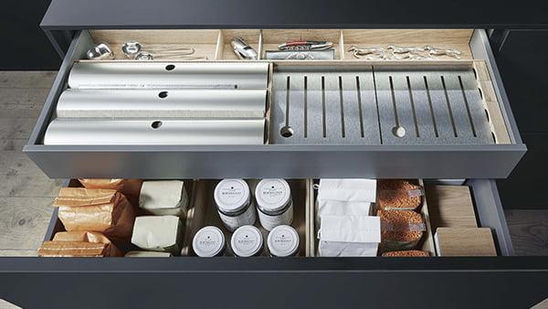 schubalden ordnungssystem primus von next125 aus holz für besteck und messer