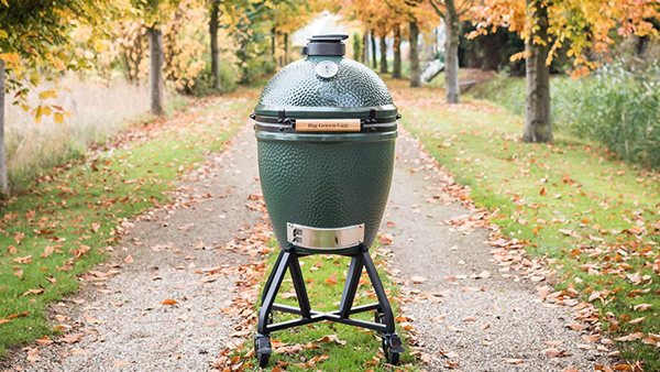 big green egg holzkohlegrill