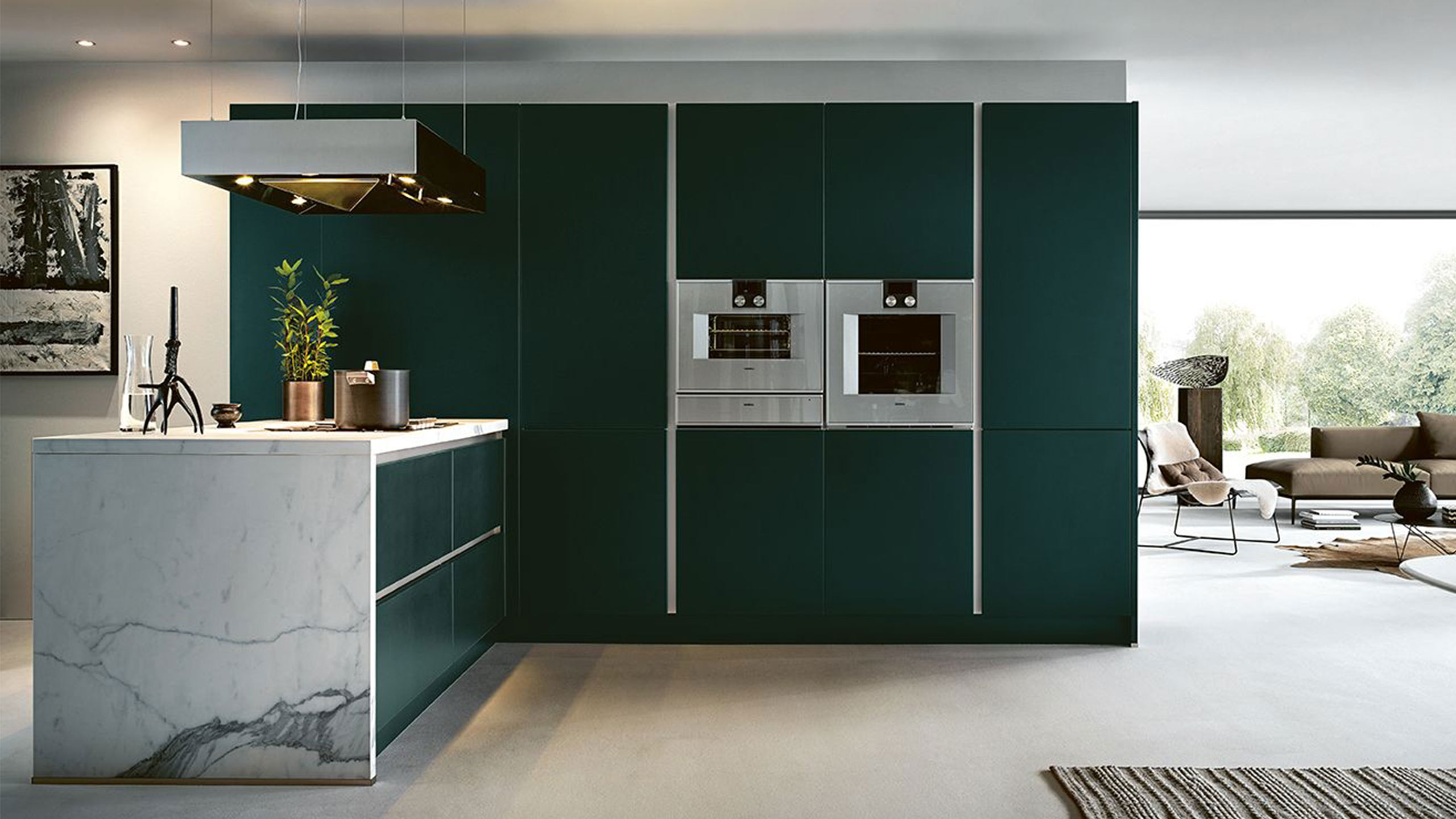 grüne küchen kombinieren und beispielküchen next125 als header im küchen staude magazin