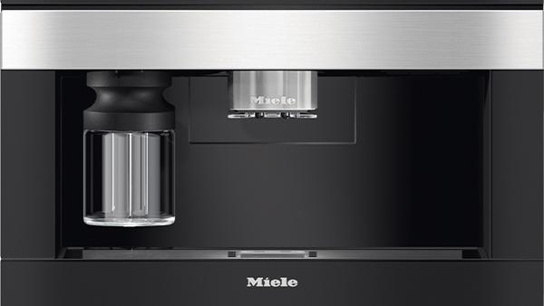 einbau kaffeevollautomat cva 7840 von miele mit drei bohnenbehältern