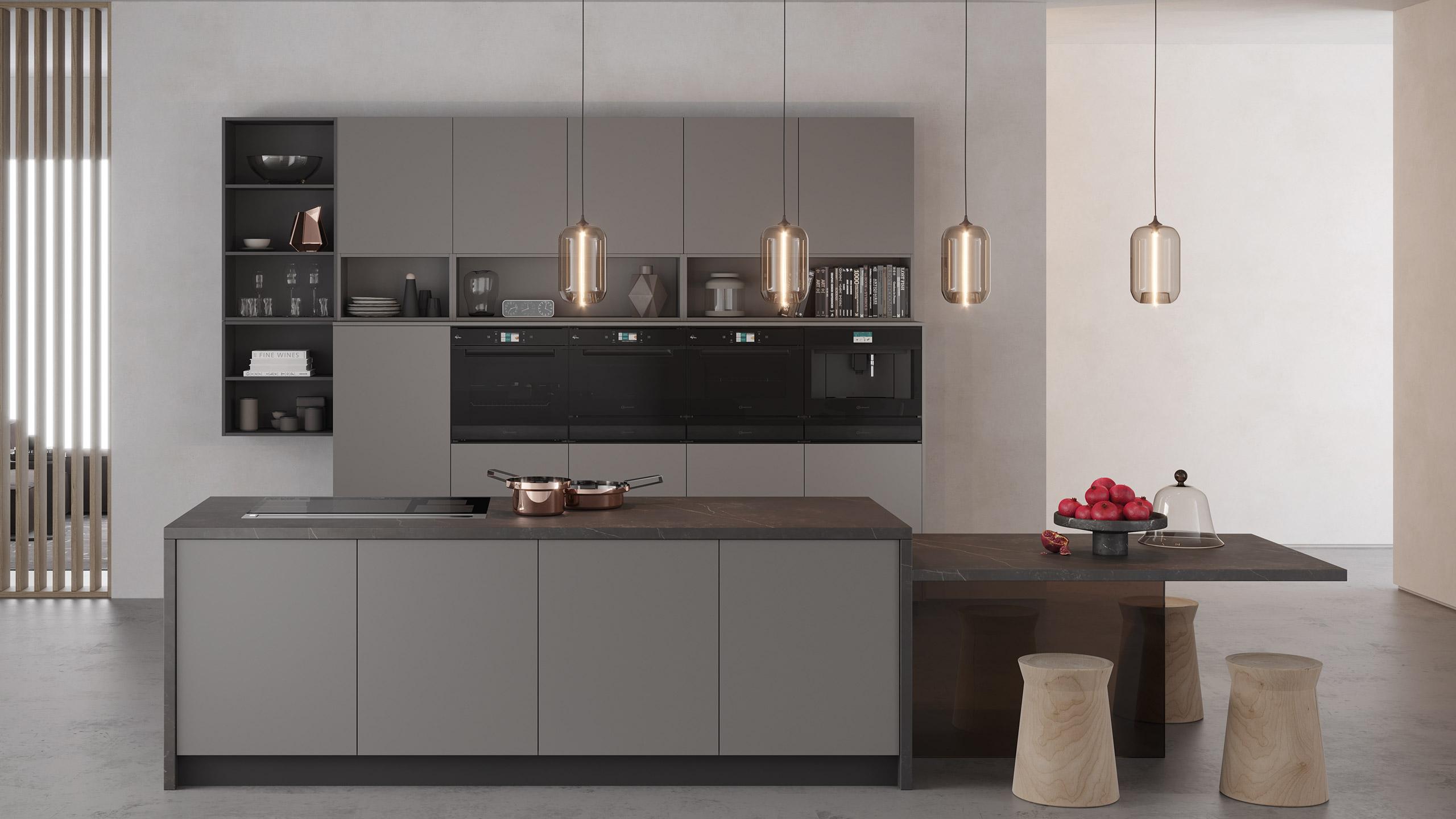 bauknecht collection 11 einbaugeräte grifflos header im küchen staude magazin