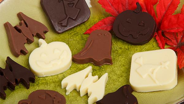 halloween schokolade rezept